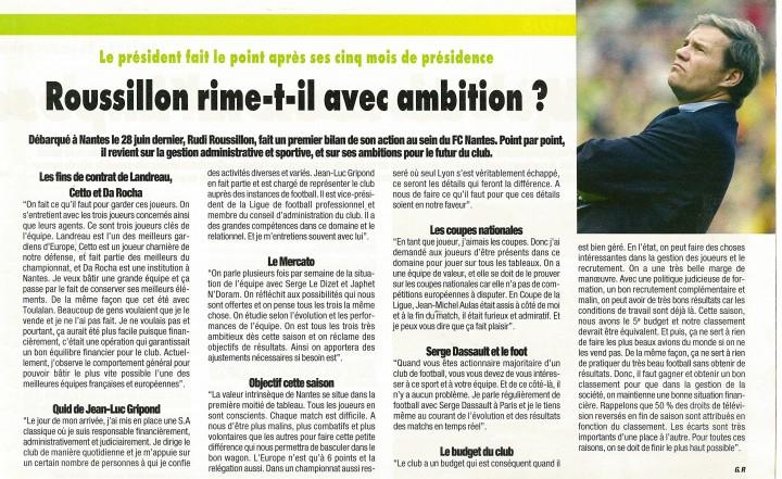 Roussillon rime-t-il avec ambition ?